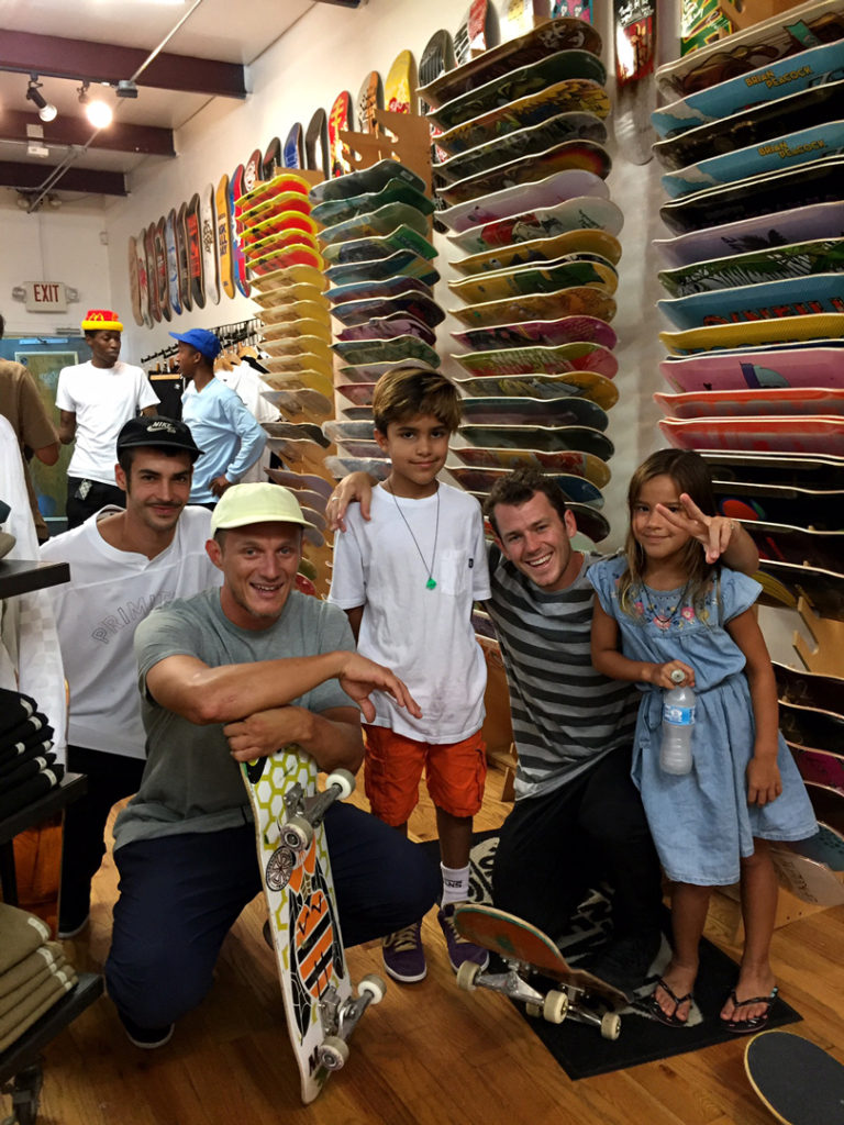 primitive-skateboards-pros-carlos-ribeiro-trent-mcclung-and-eric-take-a-pic-with-fans-photo-eric-visentin