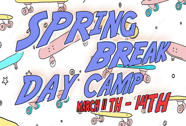 Skateboard Spring Break Camp Session March 11-14th 2019